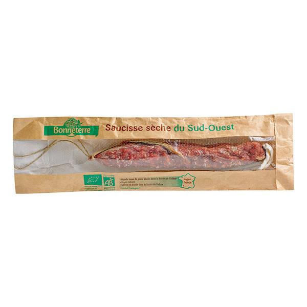 Bonneterre - Saucisse sèche du Sud-Ouest nature - 150 g