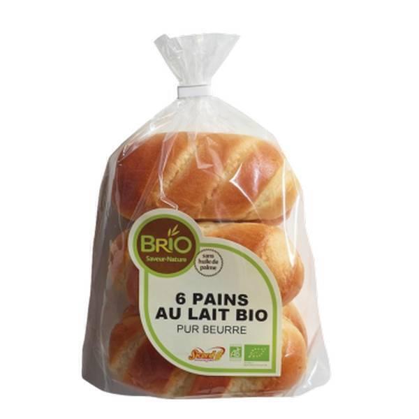 Brio (Saveur Nature) - Pains au lait pur beurre 210g