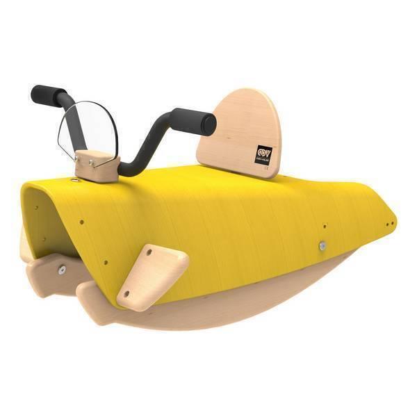 bascule moto 2en1 jaune de 1 3 ans chou du volant acheter sur. Black Bedroom Furniture Sets. Home Design Ideas