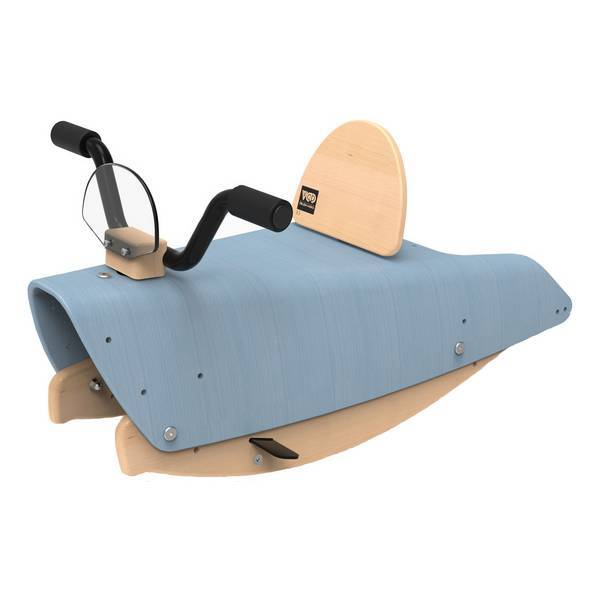Chou Du Volant - Bascule Moto 2en1 Bleu - De 1 à 3 ans