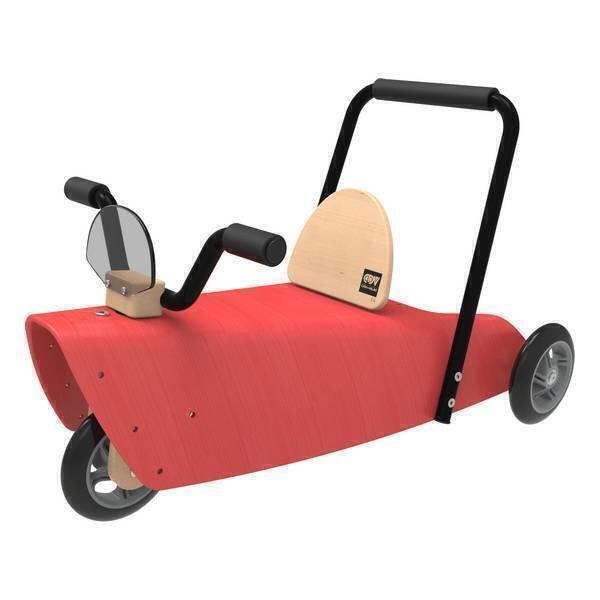 porteur moto 2 en 1 rouge de 1 3 ans chou du volant. Black Bedroom Furniture Sets. Home Design Ideas