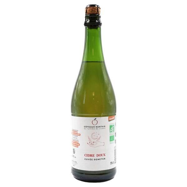 Côteaux Nantais - Cidre doux Demeter 75cl
