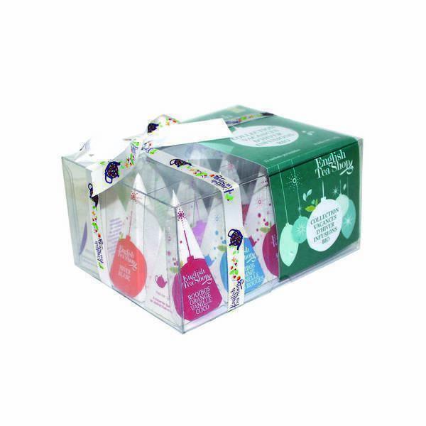 English Tea Shop - Prisme Vacances d'hiver - Coffret 6 infusions Noël - 12 sachets