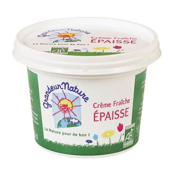 Grandeur Nature - Crème fraîche épaisse 32%MG 20cl