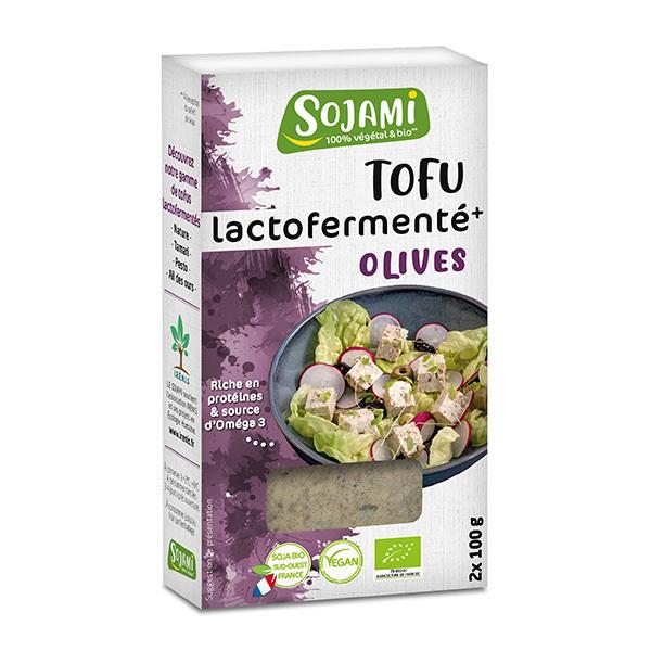 Le Sojami - Tofu lactofermenté olives 2x100g