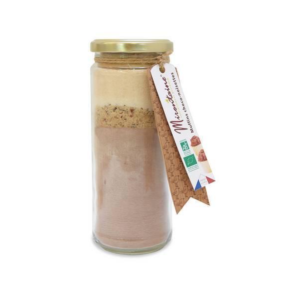 Mirontaine - Préparation BIO Muffins choco-noisettes 340 g