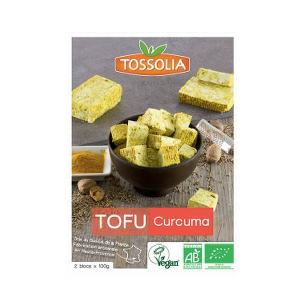 tofu curcuma 200g tossolia acheter sur. Black Bedroom Furniture Sets. Home Design Ideas