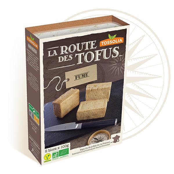 Tossolia - Tofu fumé 2x100g
