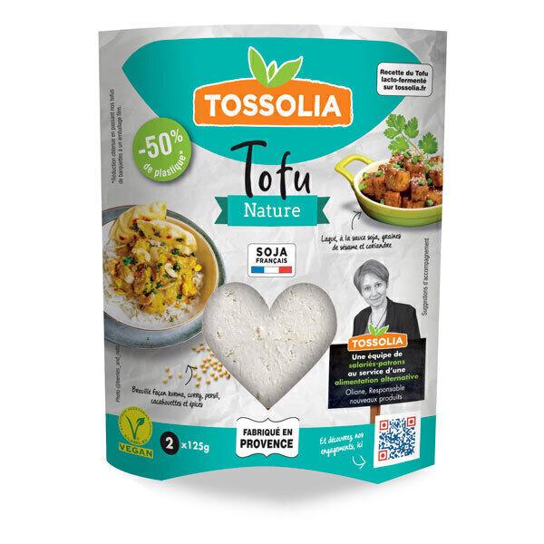 Tossolia - Tofu nature 2x125g