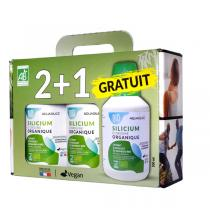 Aquasilice - Silicium d'Origine Organique Bio 3x500mL