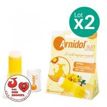 Arnidol - Lot de 2 x Arnidol Sun - 2 Sticks de 15g