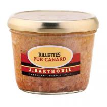 Barthouil - Rillettes pur canard 190g
