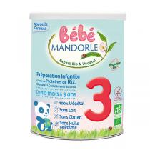 Bébé Mandorle - Lot 3 Préparation de céréales à complément protéinique 3ème âge