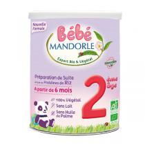 Bébé Mandorle - Lot 3 préparation pour nourrissons Riz 2ème âge 800g