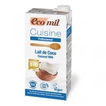 EcoMil - Préparation Cuisine Coco bio - 1 L
