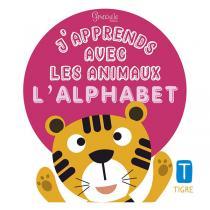 Editions Grenouille - Livre J'apprends avec les animaux l'alphabet