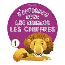 Editions Grenouille - Livre J'apprends avec les animaux les chiffres