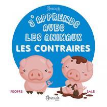 Editions Grenouille - Livre J'apprends avec les animaux les contraires