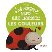 Editions Grenouille - Livre J'apprends avec les animaux les couleurs