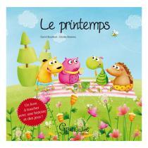 Editions Grenouille - Livre Le printemps par D. Bourbon et E. Bossrez