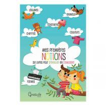 Editions Grenouille - Mes premières notions - Coffret de 6 livres