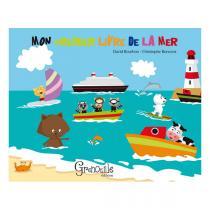 Editions Grenouille - Livre Mon premier livre de la mer par D. Bourbon et C. Boncens