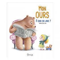Editions Grenouille - Livre Mon ours, à quoi on joue par R. Follio-Vrel