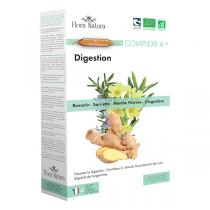 Flora Natura - Complexe 4+ Digestion - 20 ampoules
