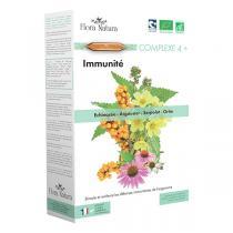 Flora Natura - Complexe 4+ Immunité - 20 ampoules