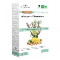 Flora Natura - Complexe 4+ Minceur Elimination - 20 ampoules