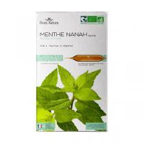 Flora Natura - Menthe Nanah feuilles bio - 20 ampoules
