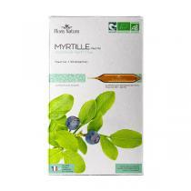 Flora Natura - Myrtille feuilles bio - 20 ampoules