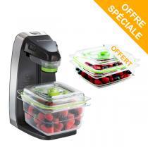 FoodSaver - Pack Machine Fraîcheur FFS010X + Boîte FFC003X offerte