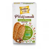 Grillon d'or - Biscuits P'tit déj sarrasin et éclats de noisettes 150g