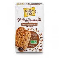 Grillon d'or - Biscuits petit-déjeuner sarrasin pépites de chocolat 150g