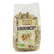 Grillon d'or - Krounchy amande avoine sans gluten bio - 500 g