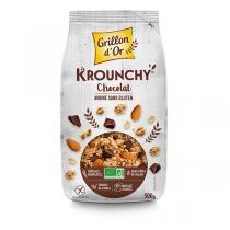 Grillon d'or - Krounchy chocolat avoine sans gluten 500g