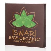 Iswari - Chocolat cru Menthe Poivrée bio - 75 g