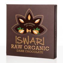 Iswari - Chocolat cru Noir Intense 85% bio - 75 g