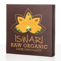 Iswari - Chocolat cru Orange et Quinoa bio - 75 g