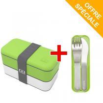 Monbento - Pack MB Original Vert et MB Pocket Vert