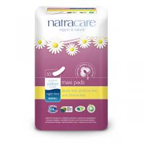 Natracare - Lot de 3 x Serviettes Maxi Nuits x10