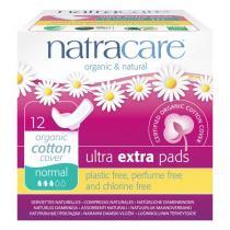 Natracare - Serviette Ultra Extra avec ailettes x12