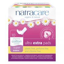 Natracare - Serviette Ultra Extra Super avec ailettes x10