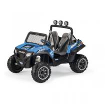 Peg Perego - Polaris RZR Blu - 4x4 2 places 12 volts - Dès 3 ans