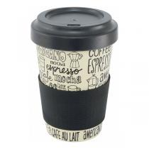 Point Virgule - Mug en fibre de bambou Café 50cl