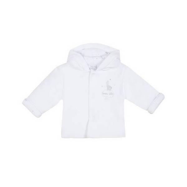 Absorba - Manteau interlock ouatiné - Blanc - 00 à 6 mois