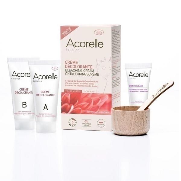 Acorelle - Crème décolorante Visage & corps sans ammoniaque