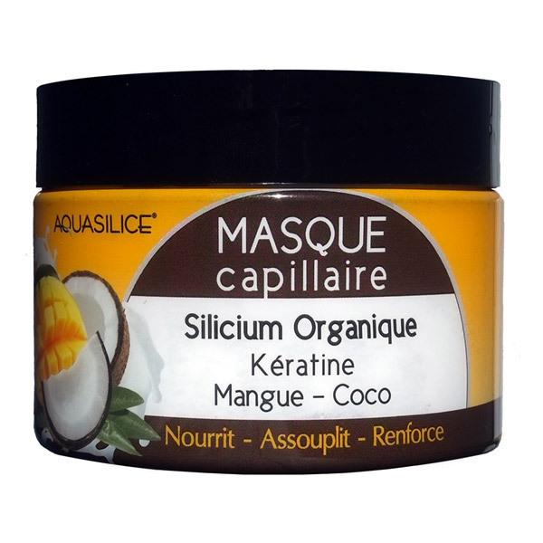 Aquasilice - Masque capillaire silicium coco et mangue 250ml