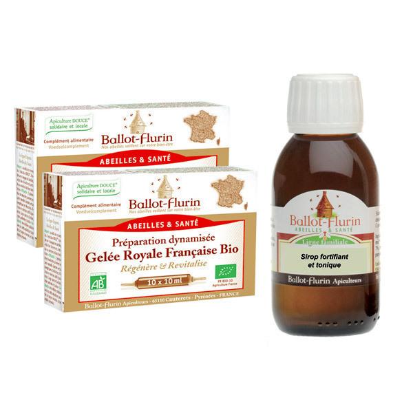 Ballot-Flurin - Cure immunité-fortifiante aux produits de la ruche
